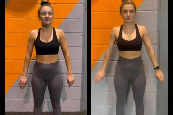 body transformation before after